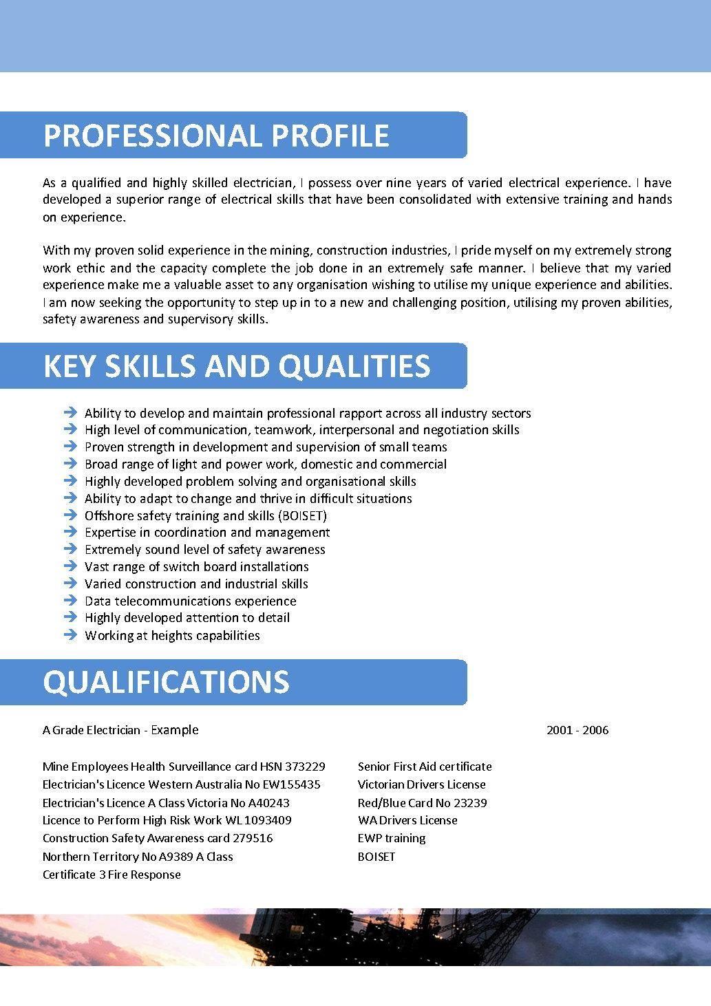 offshore resume experience hostess responsibilities functional example good massage cover Resume Offshore Experience Resume