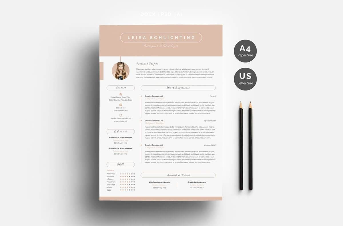 one resume templates examples of format best child actress definition training specialist Resume Best One Page Resume Examples