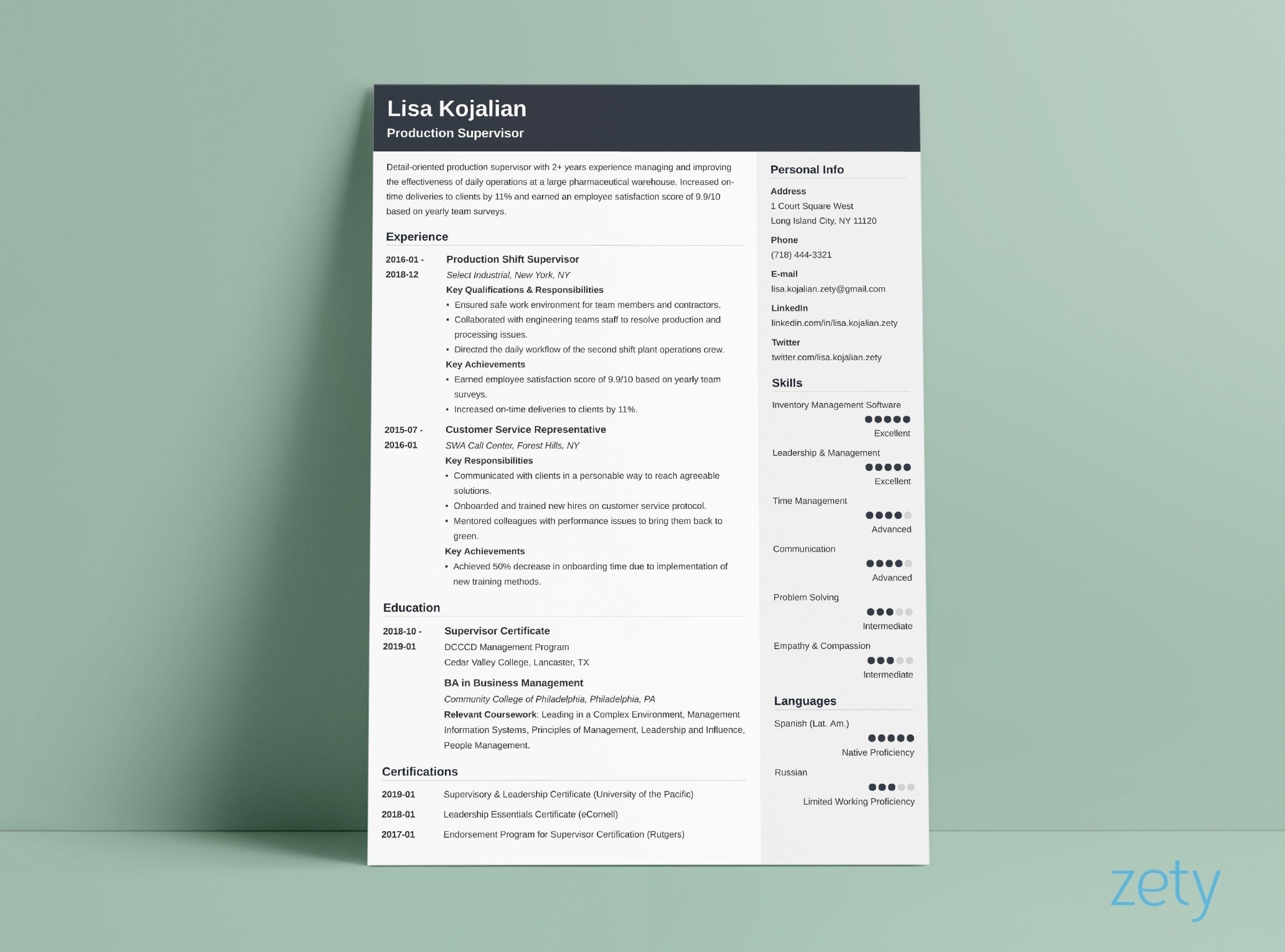 one resume templates examples of format eye catching cubic for production support Resume Eye Catching Resume Templates