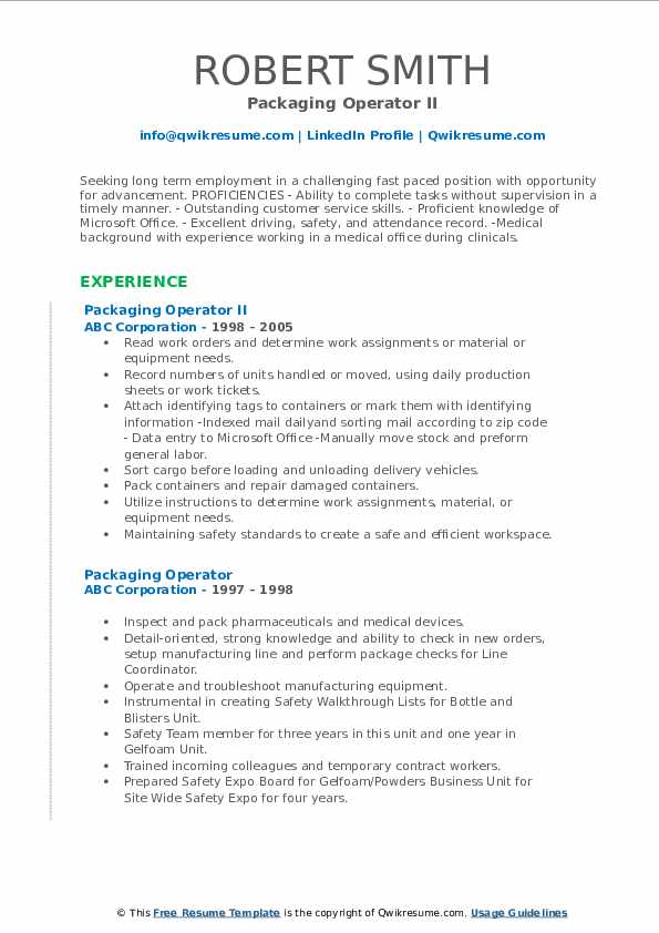 packaging operator resume samples qwikresume machine pdf word template dental assistant Resume Packaging Machine Operator Resume