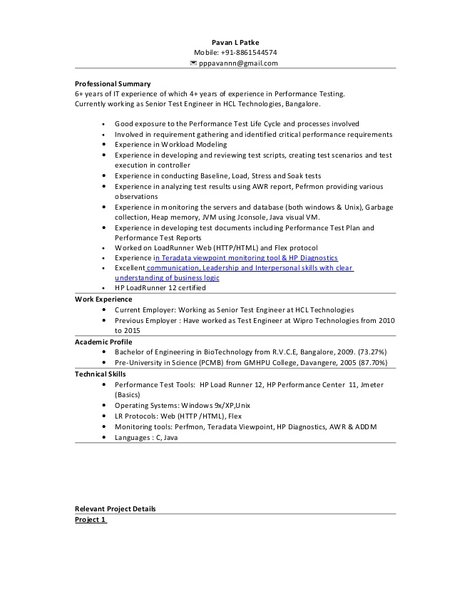 paramedic resume samples jmeter experience areas of growth for trial attorney sample good Resume Jmeter Experience Resume