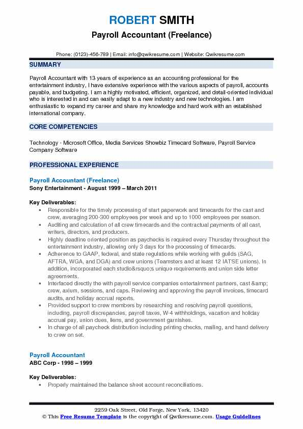 payroll accountant resume samples qwikresume examples pdf direct support professional Resume Payroll Accountant Resume Examples