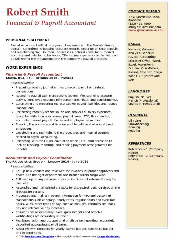 payroll accountant resume samples qwikresume examples pdf oracle identity manager recent Resume Payroll Accountant Resume Examples