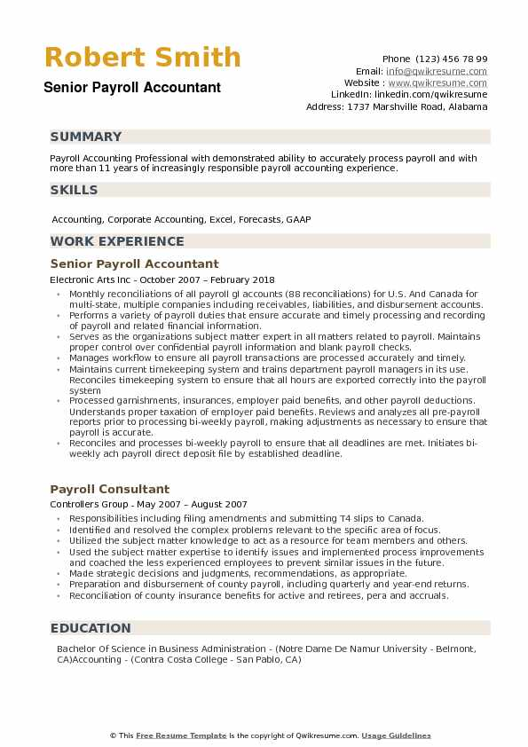 payroll accountant resume samples qwikresume examples pdf oracle identity manager Resume Payroll Accountant Resume Examples