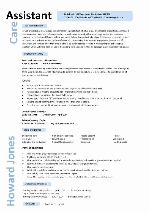 personal assistant resume examples inspirational care cv engineering civil engineer job Resume Personal Care Assistant Resume Examples