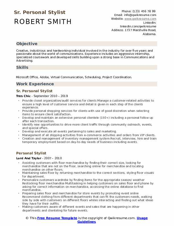 personal stylist resume samples qwikresume fashion summary pdf or objective oracle soa Resume Fashion Stylist Resume Summary
