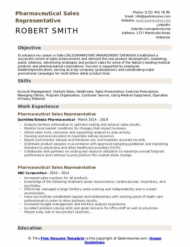 pharmaceutical representative resume samples qwikresume objective pdf professor examples Resume Pharmaceutical Resume Objective