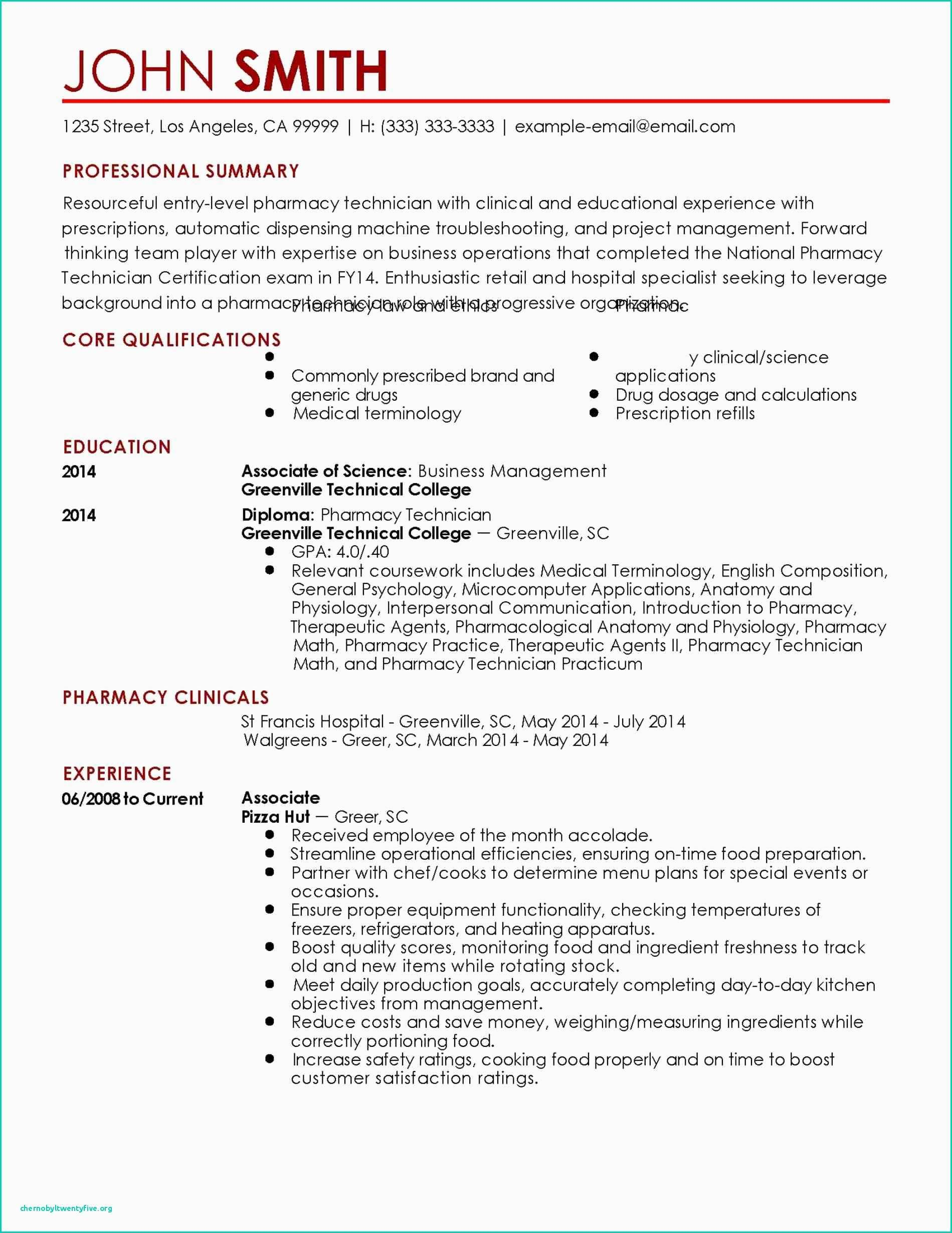 pharmacy technician cover letter resume examples entry level samples additional Resume Entry Level Pharmacy Technician Resume Samples