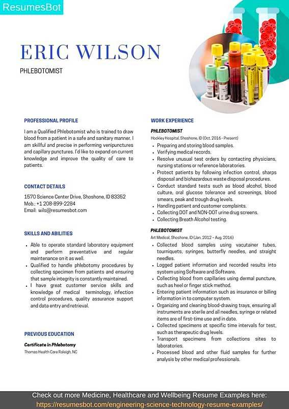 phlebotomist resume samples and tips pdf resumes bot entry level example property manager Resume Entry Level Phlebotomist Resume