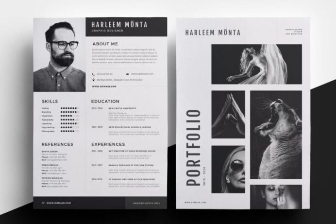 photographer resume samples qwikresume creative templates pdf job application cover head Resume Creative Photographer Resume Templates
