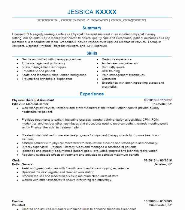 physical therapy aide resume summary free critique sample for food service worker Resume Physical Therapy Aide Resume
