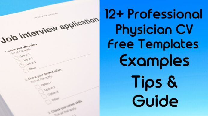 physician cv templates example tips guide resumecvs doctor resume template word pdf free Resume Doctor Resume Template Word