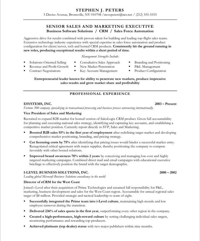 pin by blue sky resumes on marketing resume samples executive template sample format for Resume Sample Resume Format For Marketing Executive