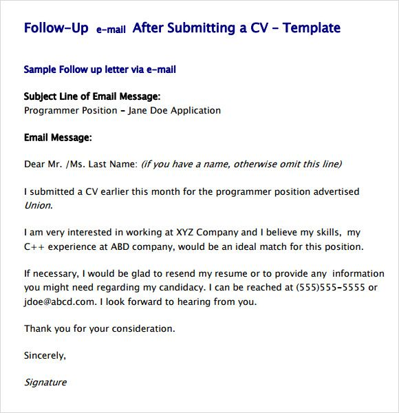 pin by brittany conduitt on just other stuff cover letter for resume sample cv example of Resume Example Of Follow Up Email After Submitting Resume