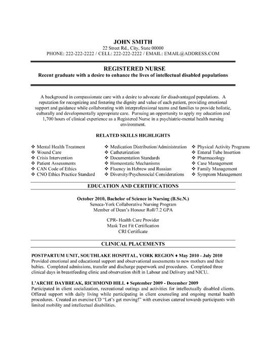 pin by resumetemplates101 on nursing resume template registered nurse examples rn free Resume Rn Resume Template Free