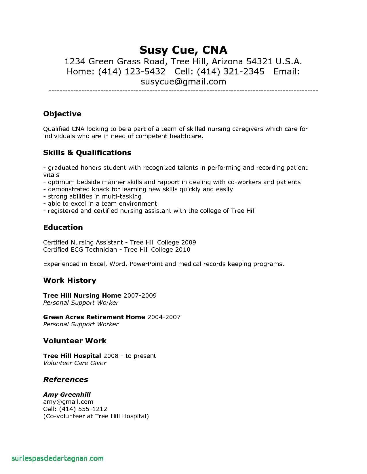 pin on resume templates cna examples personal assistant example readwritethink generator Resume Cna Resume Examples 2018