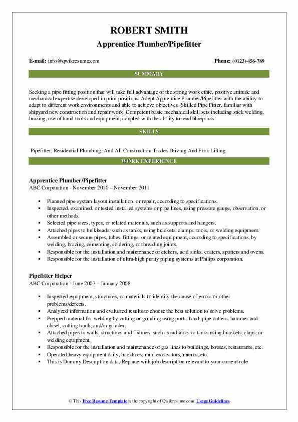 pipefitter resume samples qwikresume construction pdf professional accounting writers Resume Construction Pipefitter Resume