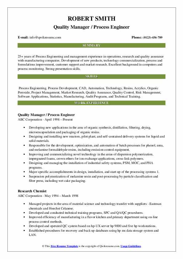 process engineer resume samples qwikresume senior sample pdf go sourcing examples about Resume Senior Process Engineer Resume Sample
