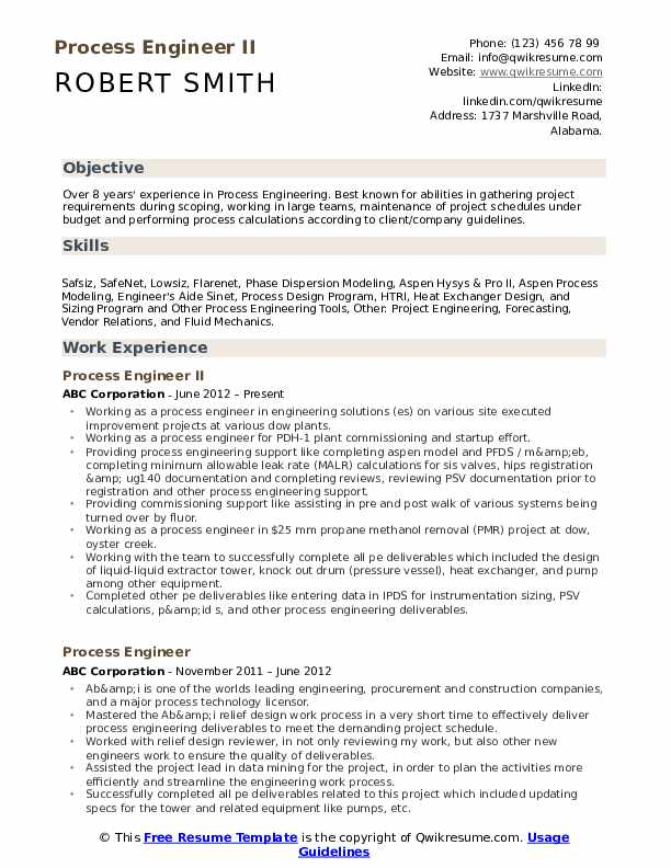process engineer resume samples qwikresume summary pdf current latest format for freshers Resume Process Engineer Resume Summary