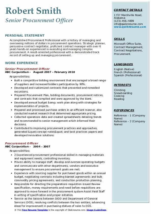 procurement officer resume samples qwikresume government contracting pdf full stack Resume Government Contracting Officer Resume