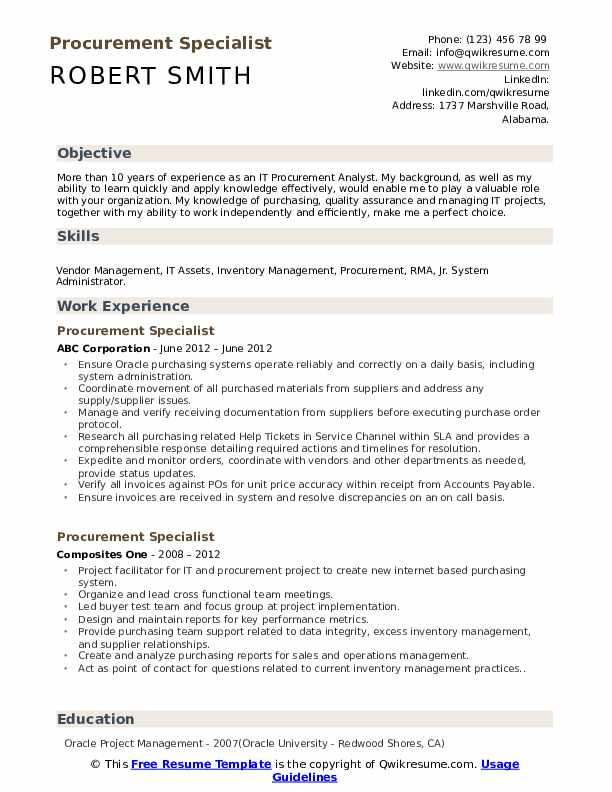 procurement specialist resume samples qwikresume job description pdf different types of Resume Procurement Job Description Resume