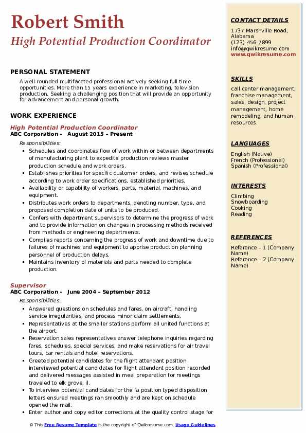 production coordinator resume samples qwikresume examples pdf objective for government Resume Production Coordinator Resume Examples