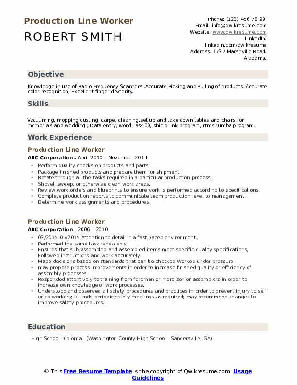 production line worker resume samples qwikresume assembly sample pdf immigration attorney Resume Assembly Line Worker Resume Sample