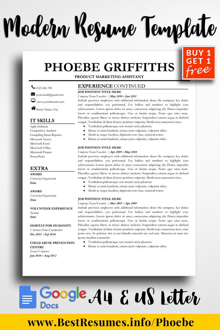 professional resume template phoebe griffiths bestresumes info tips writing examples Resume Resume Writing Packages