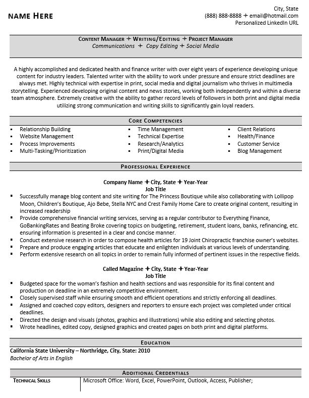 professional writer and editor resume example guide copy skills sample for taxi driver Resume Copy Editor Skills Resume
