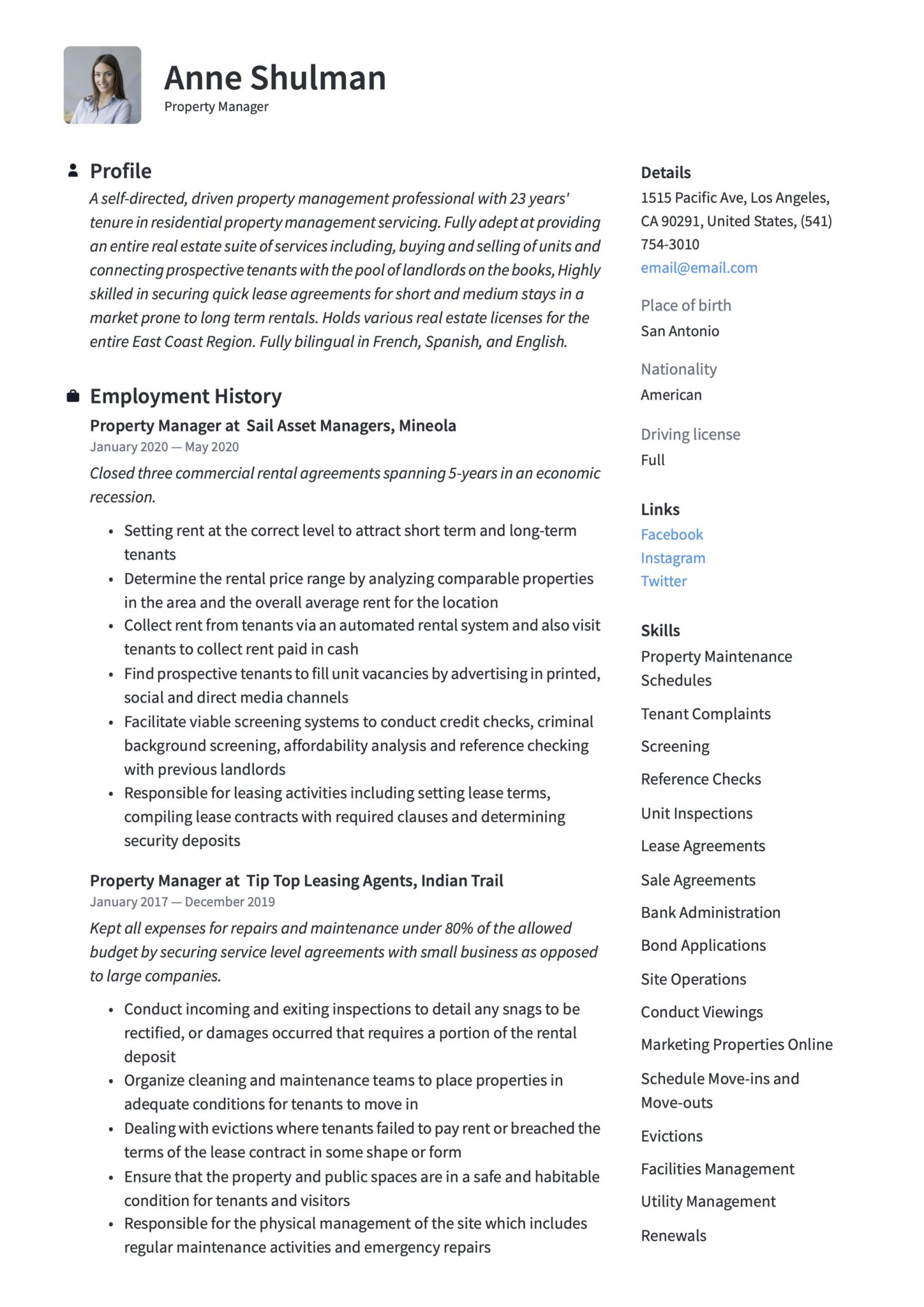 property manager resume writing guide templates sample scaled alex conroy template Resume Property Manager Resume Sample