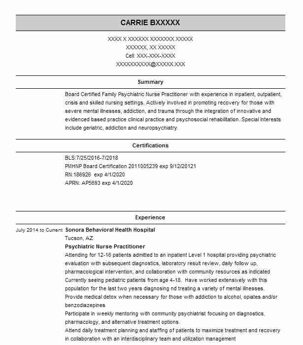 psychiatric nurse practitioner resume example wellness center new sample best affordable Resume Psychiatric Nurse Practitioner Resume Sample