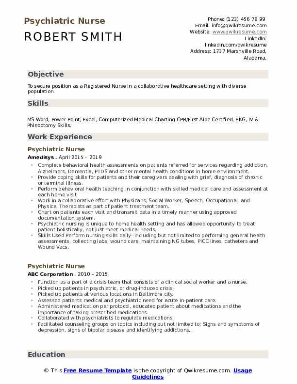 psychiatric nurse resume samples qwikresume practitioner sample pdf best affordable Resume Psychiatric Nurse Practitioner Resume Sample