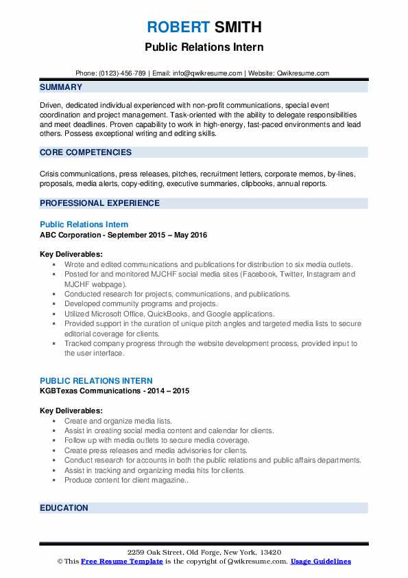 public relations intern resume samples qwikresume student pdf of microsoft employee entry Resume Public Relations Student Resume