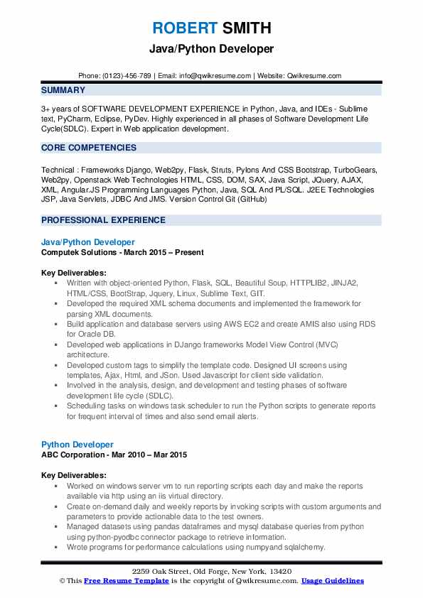 python developer resume samples qwikresume best projects for pdf shipping and receiving Resume Best Python Projects For Resume