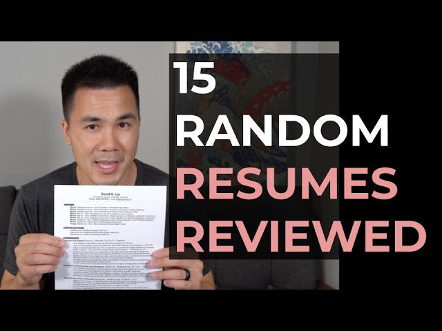 recording resumes reviewed live david careers resume review sddefault writing activities Resume David Careers Resume Review