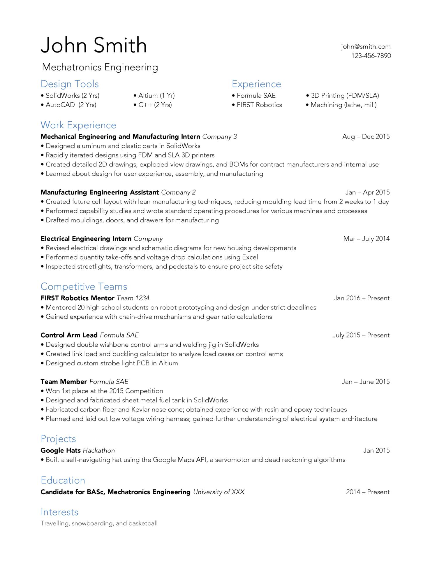 reddit resume docdroid mechanical engineering pdf text only aviation maintenance examples Resume Mechanical Engineering Resume Reddit