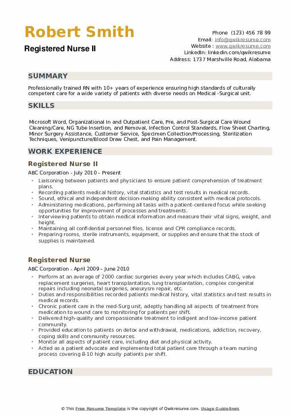 registered nurse resume samples qwikresume responsibilities pdf jitco healthcare quality Resume Registered Nurse Responsibilities Resume