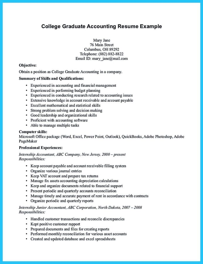 relevant coursework resume sample accounting student organization and time management Resume Cesar Marcel Pagnol Resume