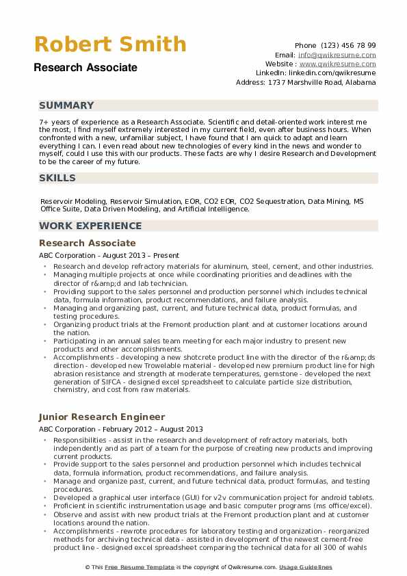 research associate resume samples qwikresume clinical pdf waitress objective teaching Resume Clinical Research Associate Resume