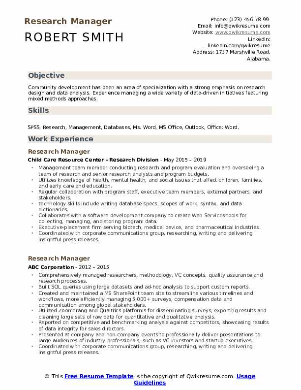 research manager resume samples qwikresume for pharmaceutical and development pdf cover Resume Resume For Pharmaceutical Research And Development