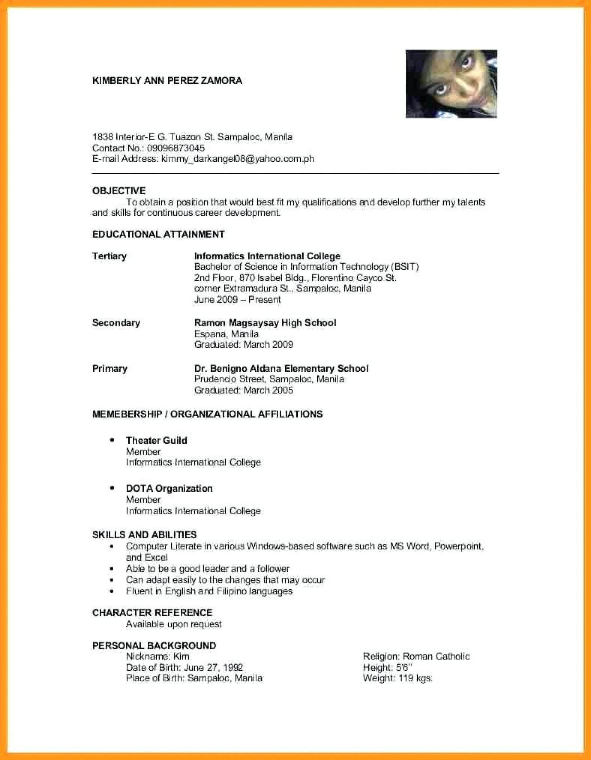 resume character reference damba personal references on templates in lawyer jobs letter Resume Personal References On Resume