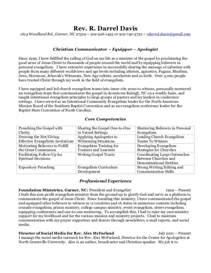 resume example fresh ideas ministry lead pastor samples sample cover letter for templates Resume Sample Ministry Resume And Cover Letter