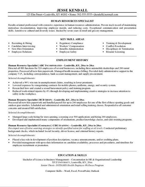 resume example in objective sample examples human services assignment pronunciation Resume Human Services Resume Examples