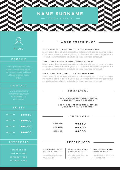 resume examples monster contemporary modern template restemp sample computer science Resume Contemporary Modern Resume Template