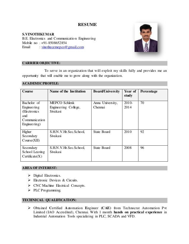 resume for applying plc engineer job electrical automation best writers examples general Resume Electrical Automation Engineer Resume