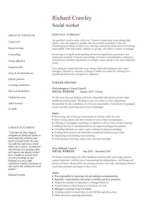 resume for social worker free templates format placement of cv template work food prep Resume Resume Format For Placement