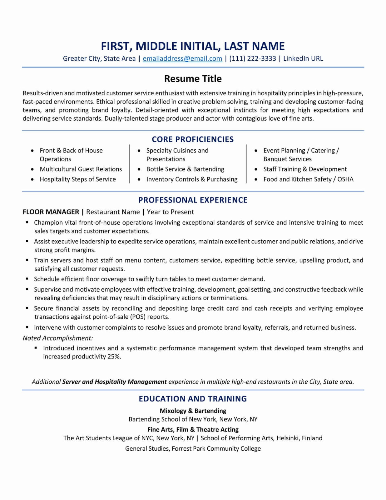 resume format best tips and examples updated zipjob template free experienced teacher Resume Canadian Resume Template Free