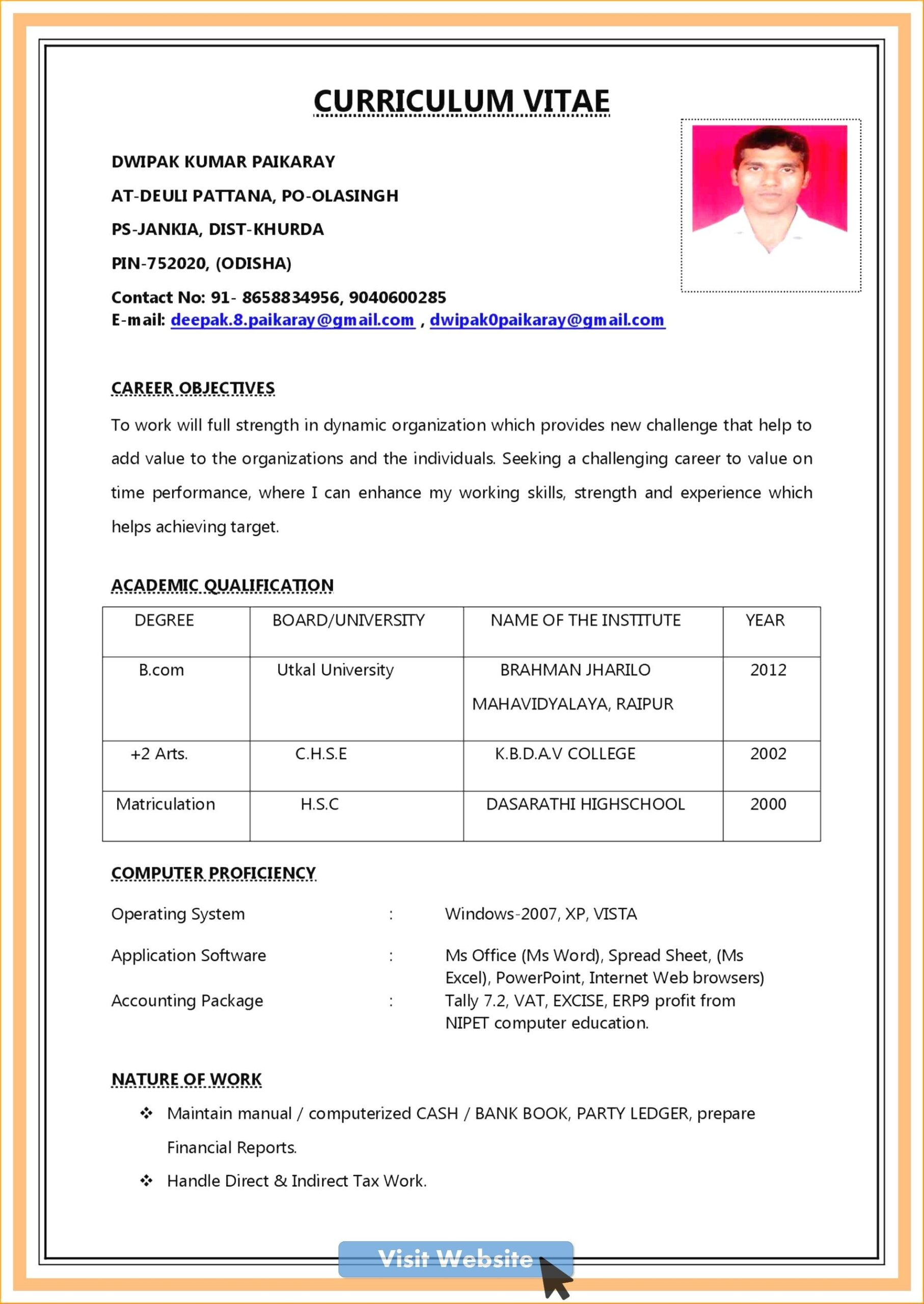 resume format for office boy job best examples sample cashier qualifications and skills Resume Sample Resume For Office Boy
