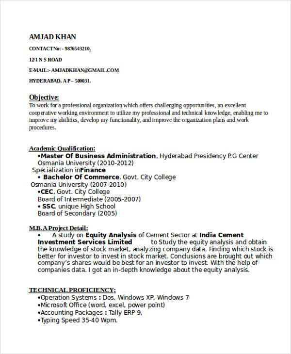 resume format for tally erp best sample experience cover letter ideas enjoy synonym first Resume Tally Experience Resume Format