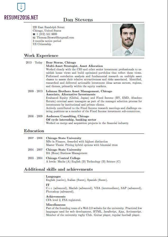 resume format trends latest best for freshers current styles samples golf course Resume Current Resume Styles Samples